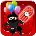 Parachute Ninjas and Bombs icon