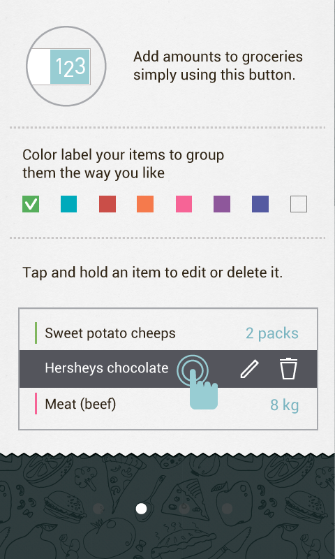Buy Me a Pie! Grocery List Pro - screenshot
