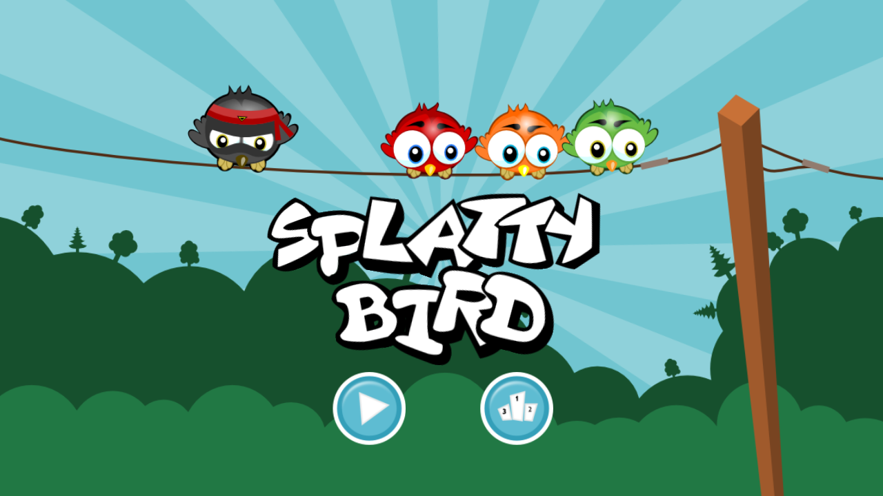 Splatty Bird- screenshot