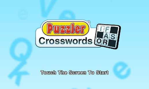 Puzzler Crossword - screenshot thumbnail
