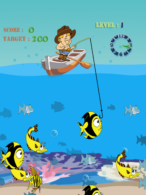 Shark fishing games free android apps on google play for Free online fishing games