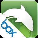 Box for Dolphin logo