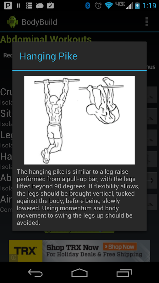BodyBuild - screenshot