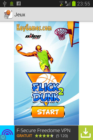 【免費體育競技App】Flick basketball-APP點子