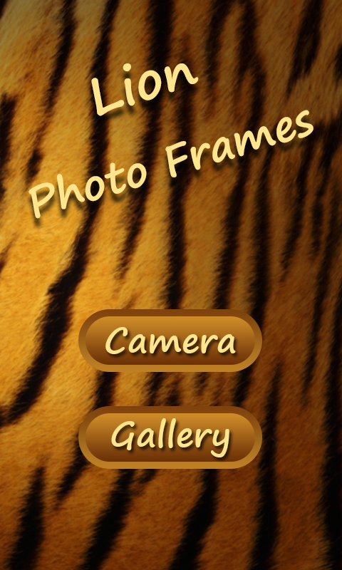 Lion Photo Frames- screenshot