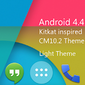 ThyrusHolo KIT KAT Light Theme