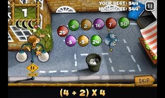 Screenshot of Maths Monkey's Quest