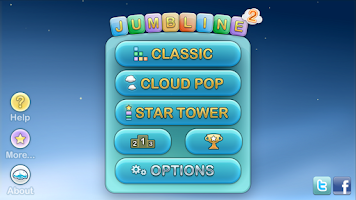 Screenshot of Jumbline 2 - word game puzzle