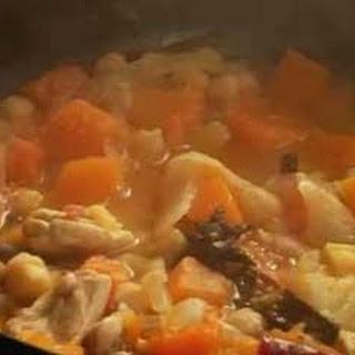Chicken and Squash Tagine Recipe