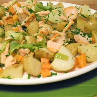 Warm Salmon Salad.