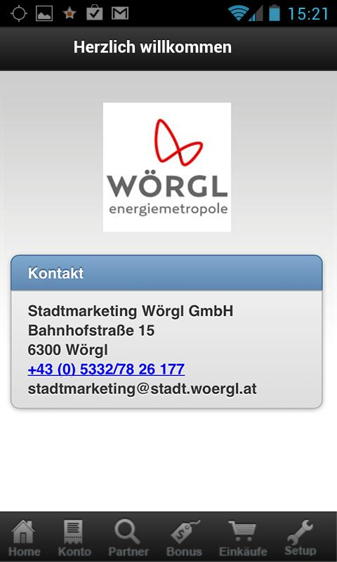 energie.card Wörgl- screenshot