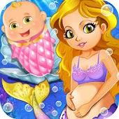 Mermaid Newborn Baby Doctor