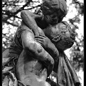 Mother & Son by Astrid Panitz - City,  Street & Park  Cemeteries