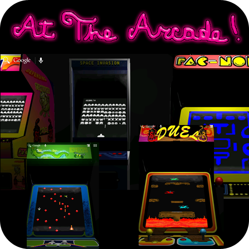 At the Arcade 3D Wallpaper
