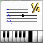 ¼ Learn sight read music notes