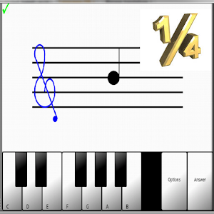 Learn sight read music notes ¼ for PC and MAC