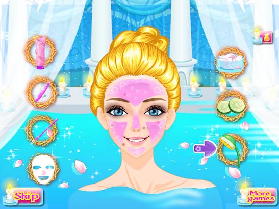 Beauty spa princess games screenshot