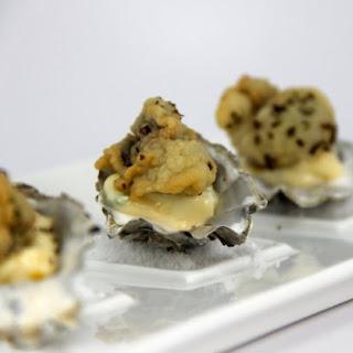 Fried Wellfleet Oysters with Tartar Sauce.