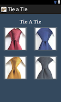 Screenshot of Tie A Tie