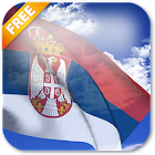 3D Serbia Flag Live Wallpaper icon