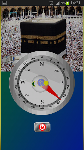 Point to Qibla Mecca