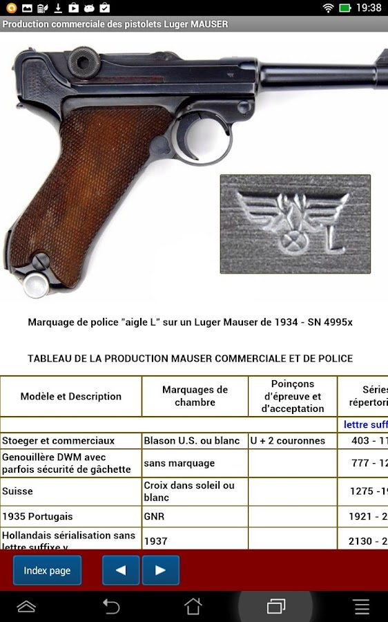 Producteurs du pistolet Luger- screenshot