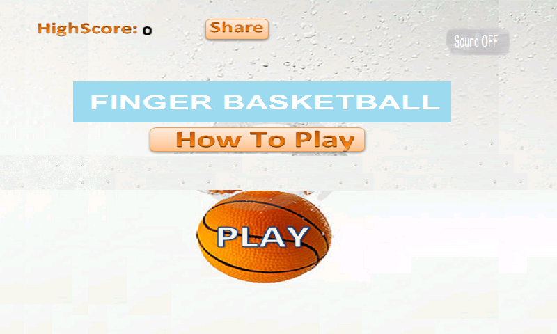 Finger Basketball- screenshot