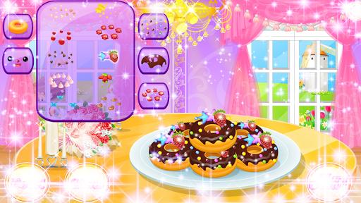 可爱的甜甜圈机
