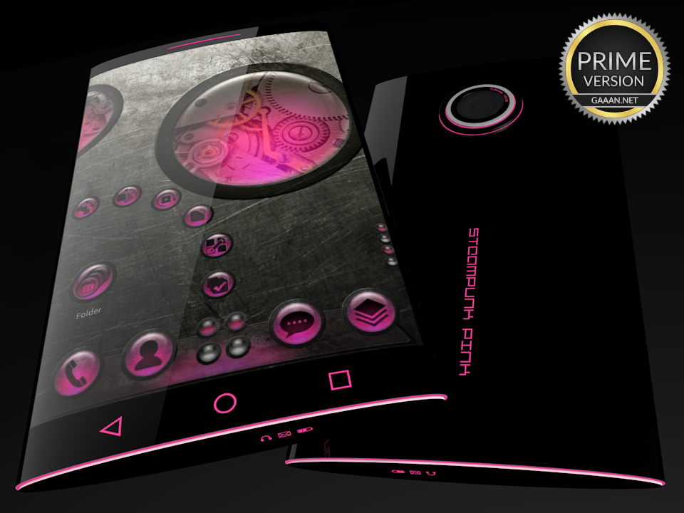 Steampunk Pink - Next Theme- screenshot