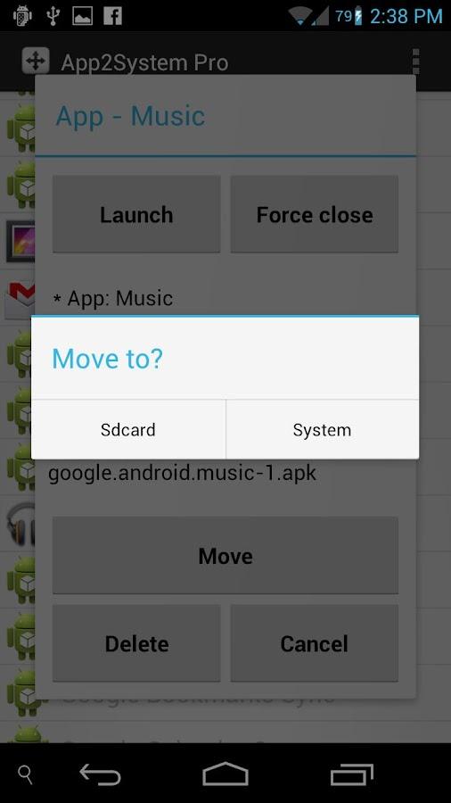 App2System PRO- screenshot