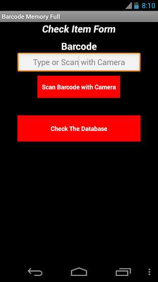 Barcode Memory Full- screenshot thumbnail
