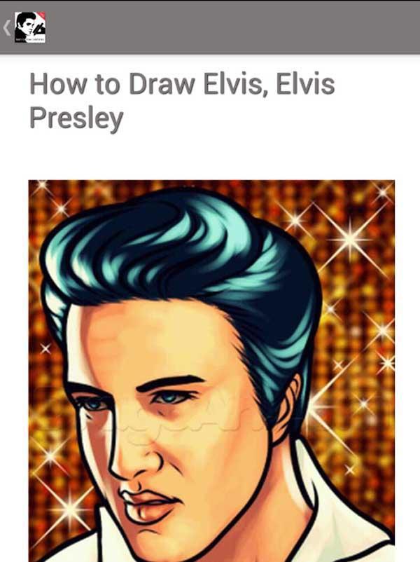 learn to draw celebrities screenshot