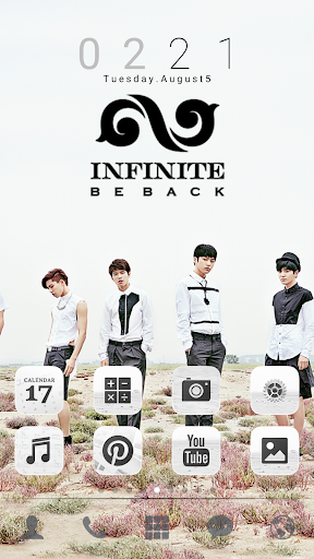 INFINITE back dodol theme