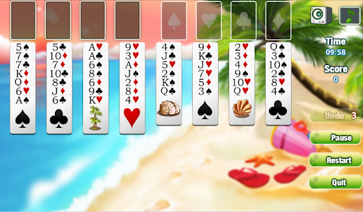 Freecell Summer Holiday - screenshot thumbnail
