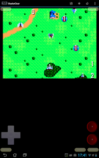MasterGear - Sega Emulator - screenshot thumbnail