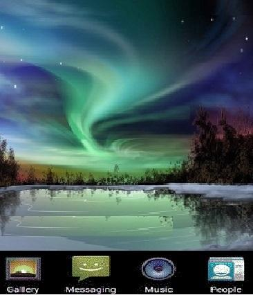 Aurora LIVE wallpaper