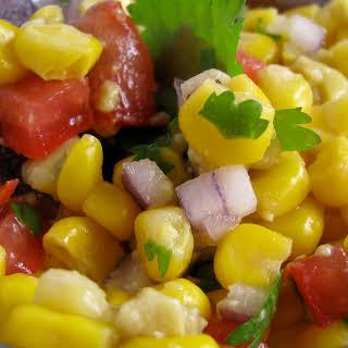 Sweet Corn and Avocado Salsa.