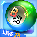 Bingo City Live HD 75 logo