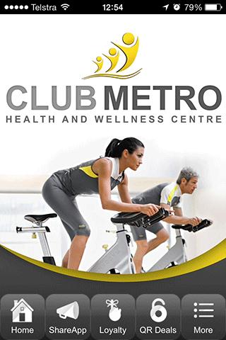 Club Metro Health Fitness