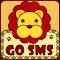 CuteLion Theme GO SMS 1.0 Apk