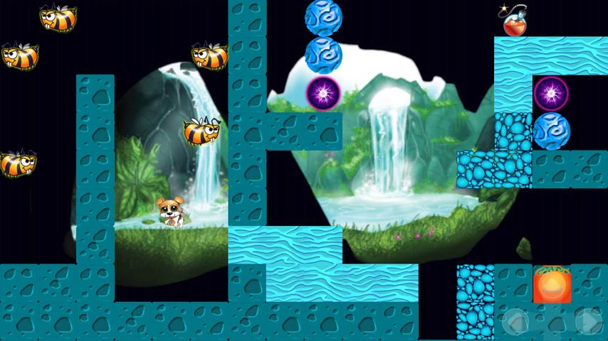 Maze Game Puppy Run - screenshot