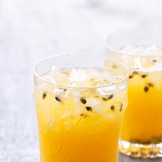 Passion Fruit Meyer Lemonade.