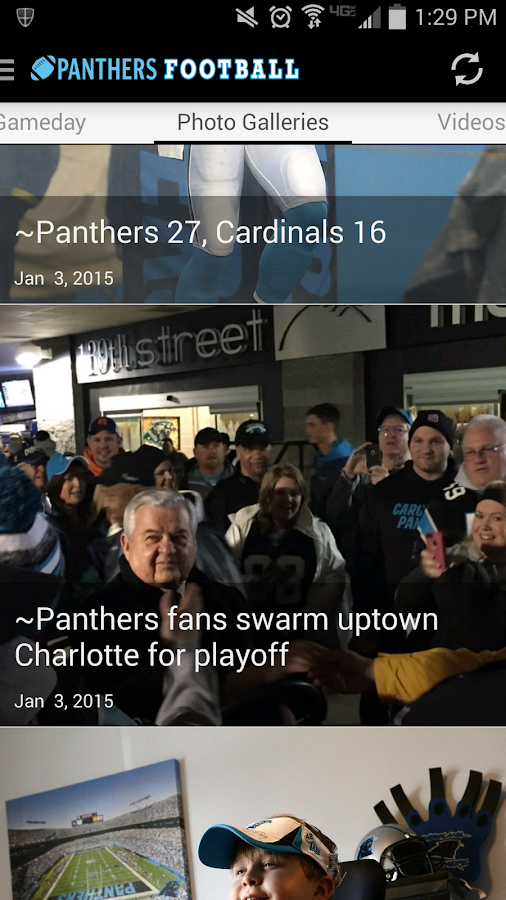 Carolina Panthers News - screenshot