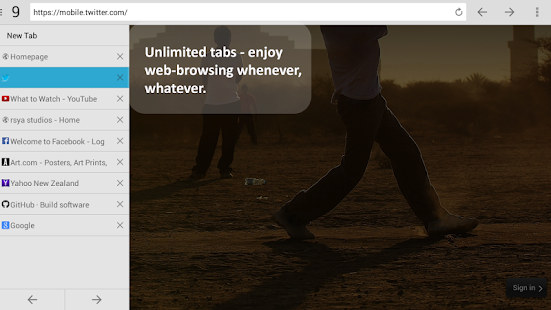 NC Browser Pro - screenshot thumbnail