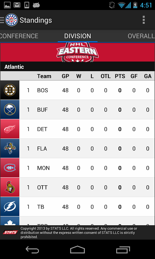 CBC Hockey - screenshot