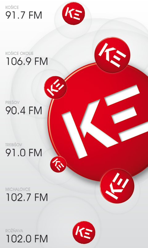 Radio Kosice- screenshot