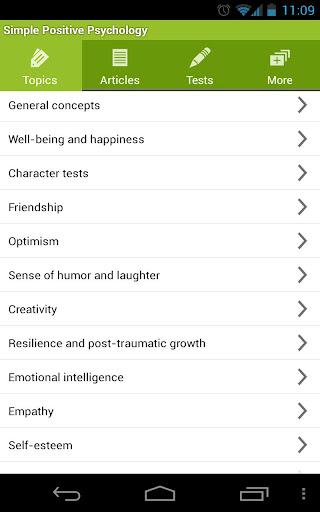 Simple Positive Psychology