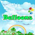 Mental Math Balloons Popping icon