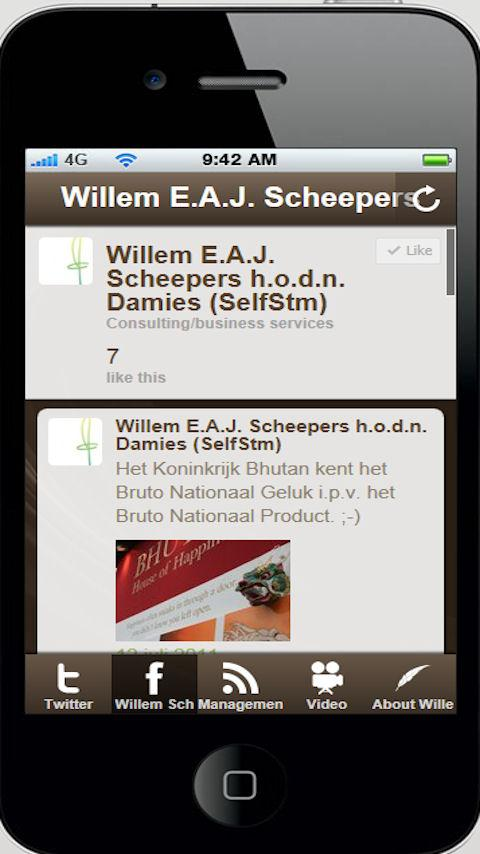Willem E.A.J. Scheepers- screenshot