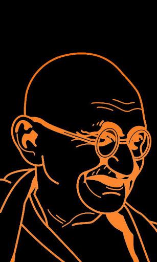Gandhi Live Wallpaper